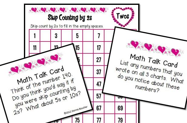 Valentine's Day Hundred Chart Fun - Math Coach's Corner