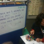 Solving Addition and Subtraction Stories in Kindergarten