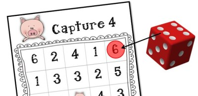Capture 4 Numbers to 6