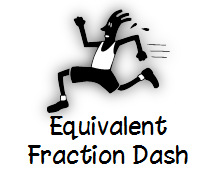 Equivalent Fraction Dash
