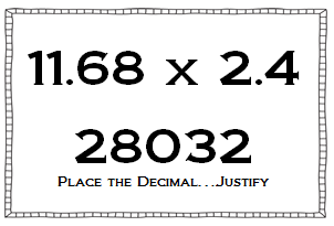 Multiplying and Dividing Decimals Using Number Sense - Math Coach's ...
