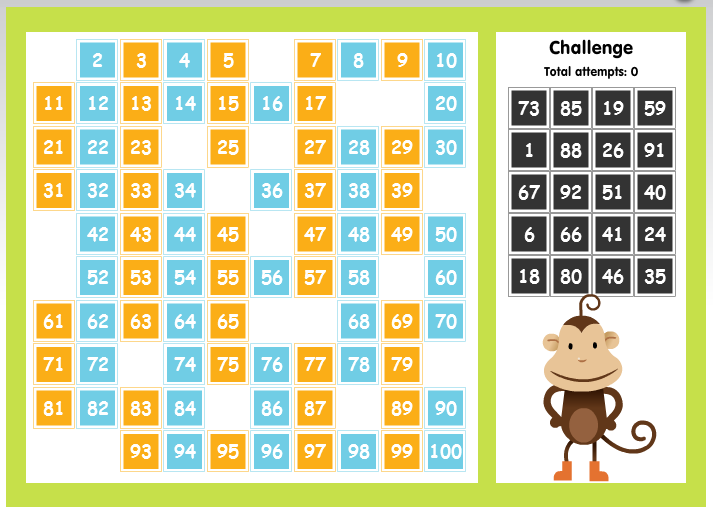 Online Math Games Coach's Corner. This Game Is 100 Number Chart Students Click And Drag To Place The Missing Numbers. High School. Worksheet Games For High School Students At Clickcart.co