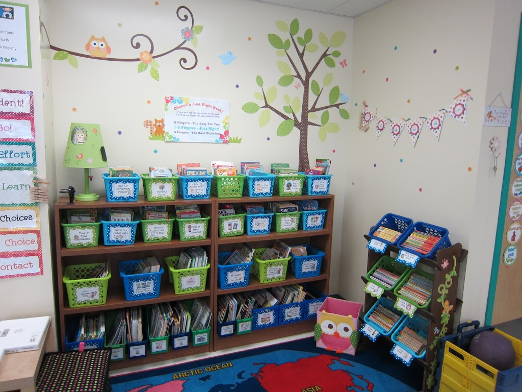 Classroom Library Decorating Ideas ~ Bagels and s elementary math coach corner