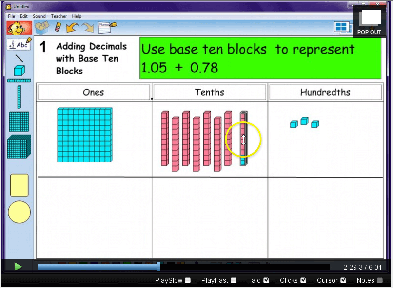 Modeling Addition and Subtraction of Decimals - Math Coach's Corner