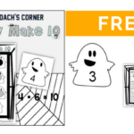 Boo!  Ghostly Math Fun for Making Ten