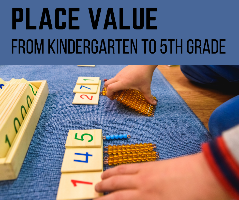 Place Value–Building Meaning Behind the Numbers