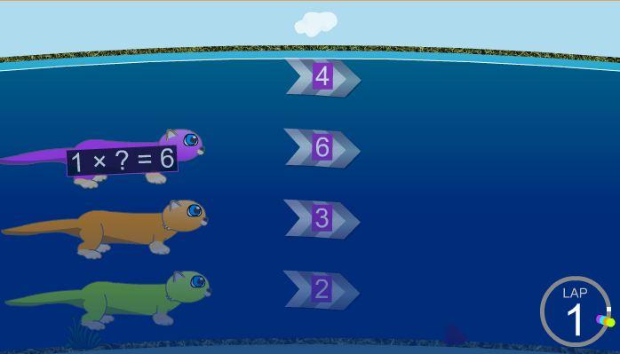 Resultado de imagen de swimming otters multiplication