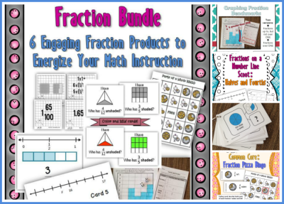 Fraction Products Collage