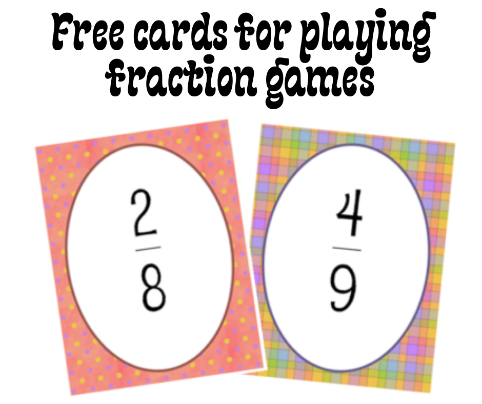 Fraction Games with Cards