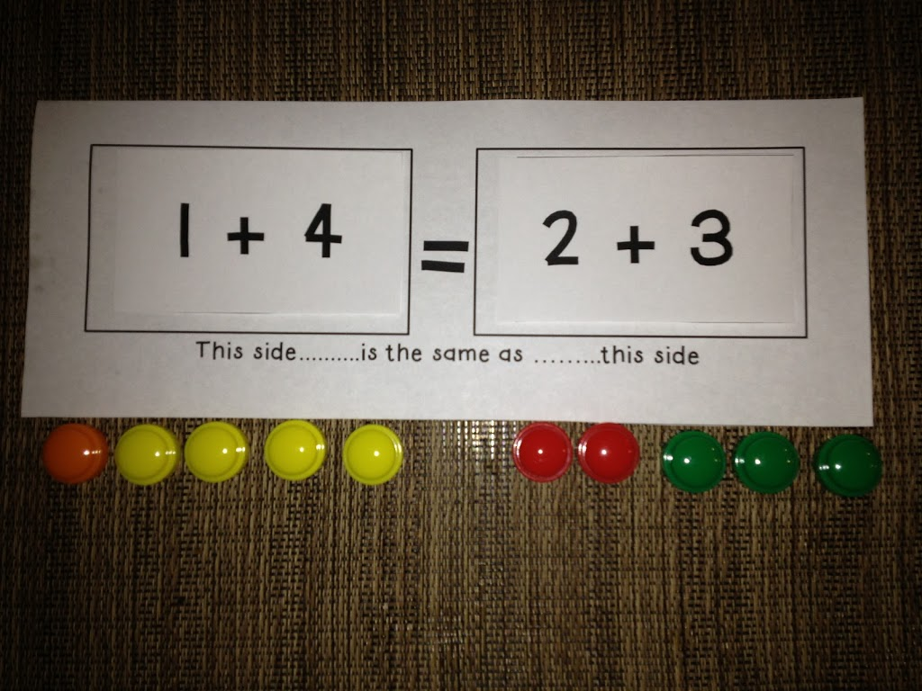 The Meaning of the Equal Sign - Math Coach's Corner