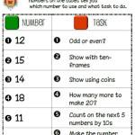Number Tasks