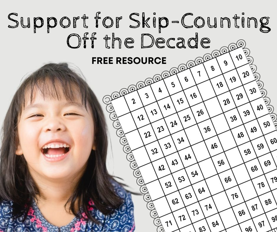 Support for Counting by Tens off the Decade