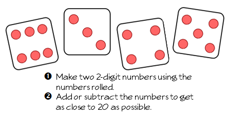 Target 20: A Math Game of Strategy and Computation