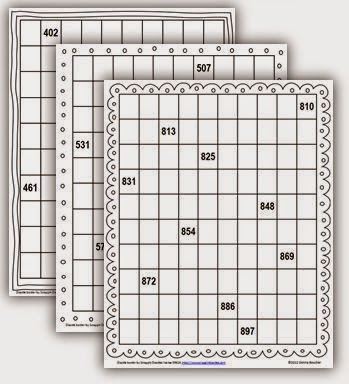 Pocket Chart Number Cards To 1000 Math Coachs Corner