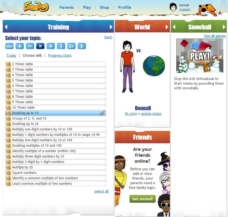 Engaging Online Math Practice - Math Coach's Corner