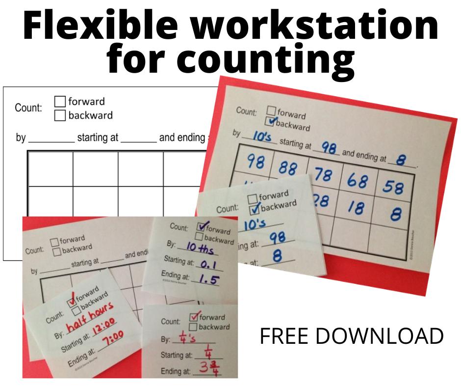 Flexible Workstation for Number Sense