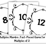 Multiples Card Game Freebie