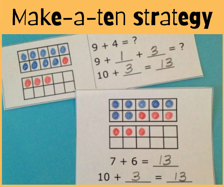 Use a strategy-based approach for addition facts