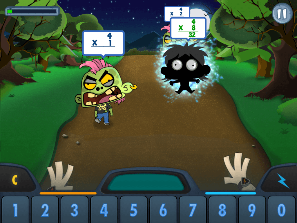 Appy Hour: Math vs Zombies - Math Coach\'s Corner