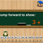 Appy Hour: Little Monkey Number Lines