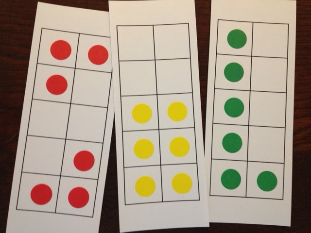 using ten frames to build number sense click here to download blank ten frames 3 to a page to make your dot cards