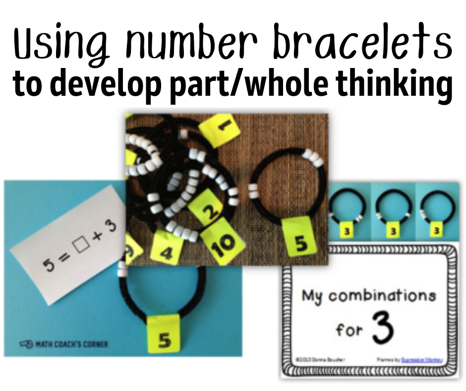Using Number Bracelets to Develop Part/Whole Thinking