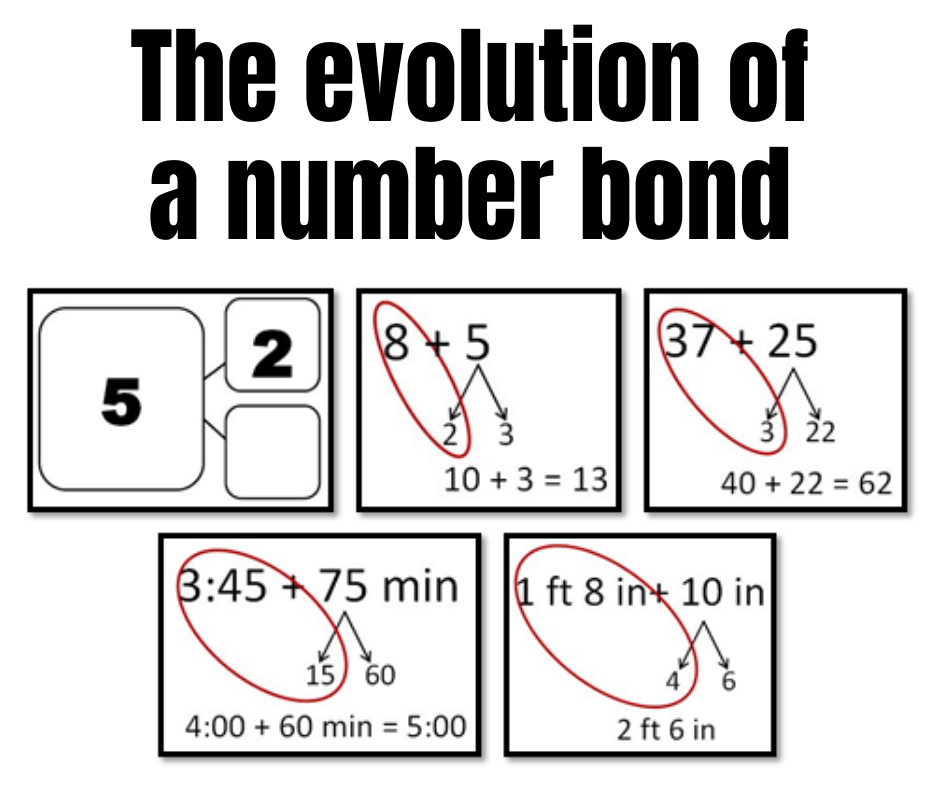 The Evolution of a Number Bond