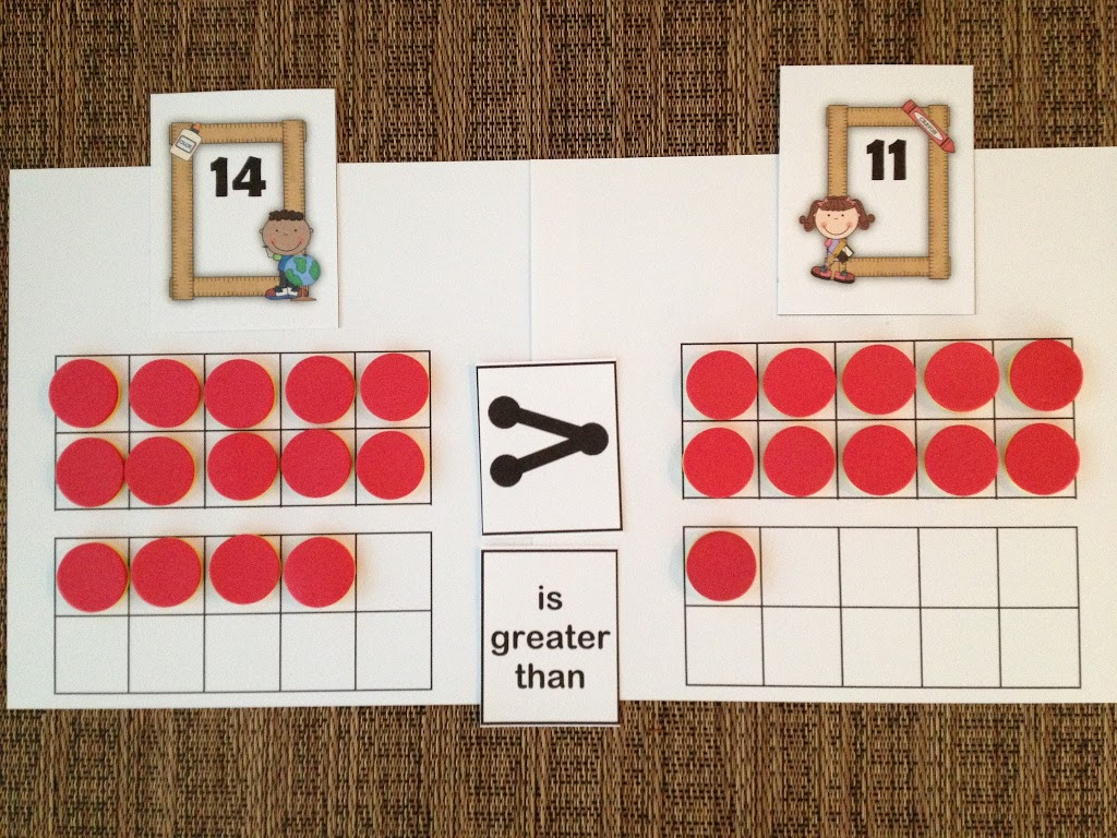 Using place value to compare numbers math coachs corner biocorpaavc Image collections