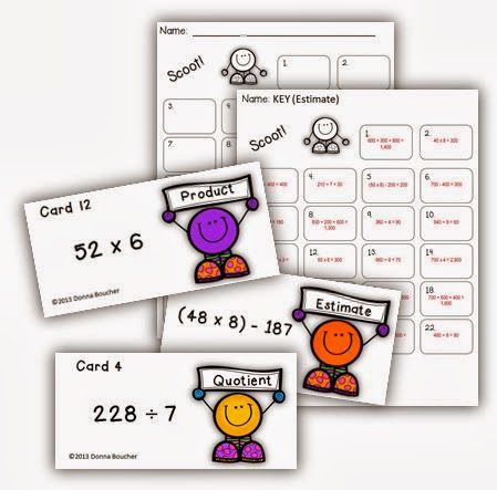 Estimation Scoot Game