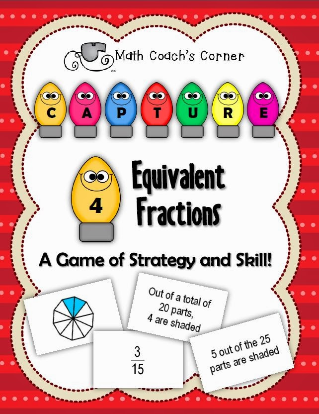 Equivalent Fractions Freebie! - Math Coach's Corner
