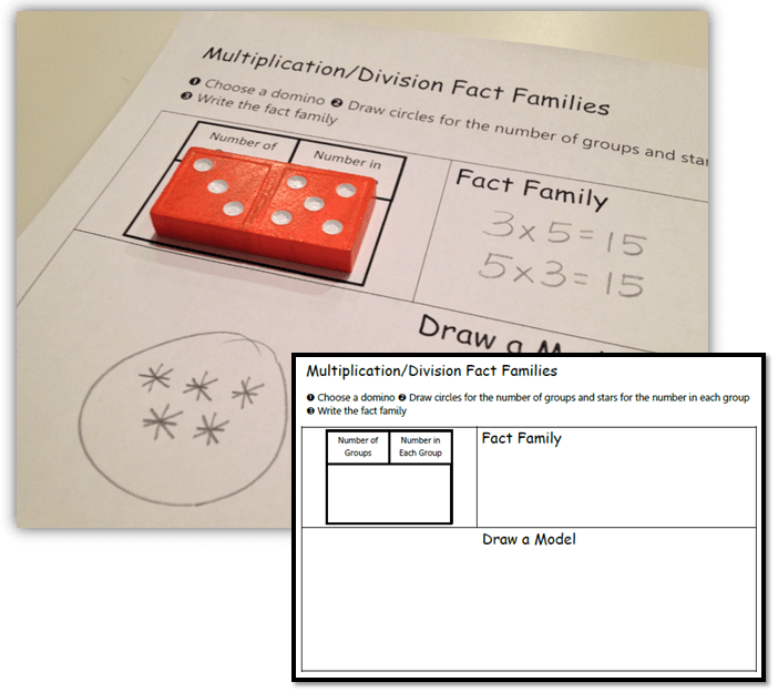 Multiplication And Division Fact Families Worksheets For 3rd Grade ...