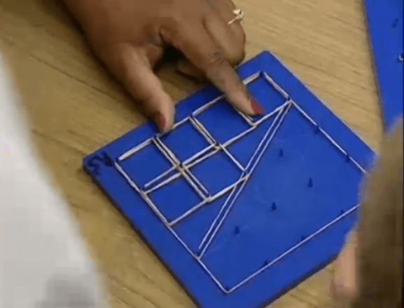 Exploring Fractions on a Geoboard