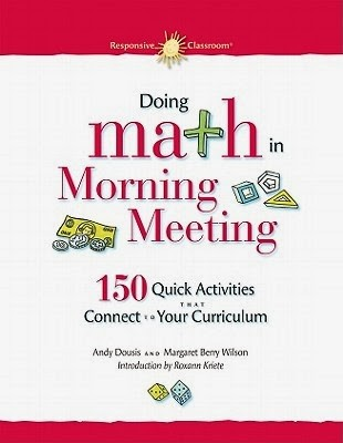 Start the morning with math math coachs corner and theres no better way to begin the day than with morning meeting by responsive classroom morning meeting includes four components greeting m4hsunfo Choice Image