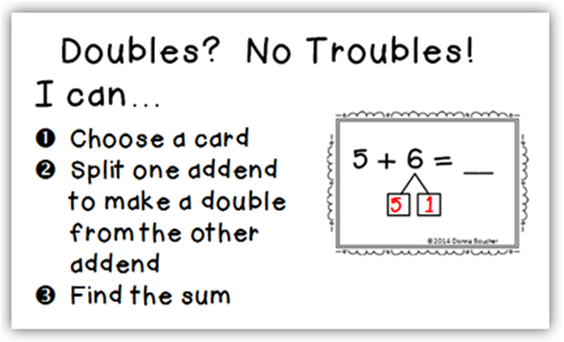 Celebrating Doubles A New Poster For The Morning Meeting. Double Strategy For Addition. Worksheet. Doubles Math Worksheet At Clickcart.co