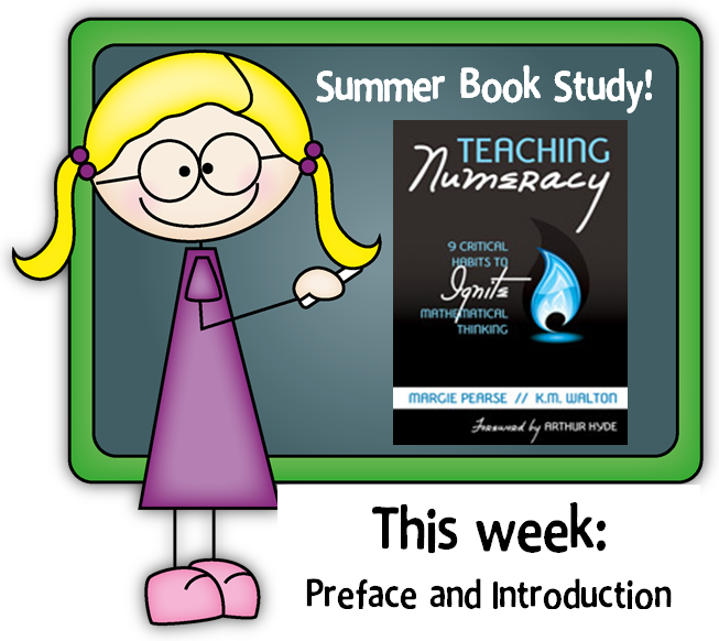 Book Study Monday: Teaching Numeracy, Preface and Introduction