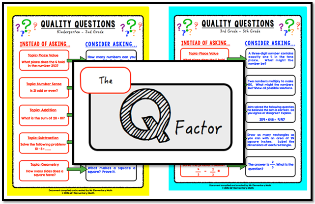 The Q Factor: Adding Quality to Our Questions