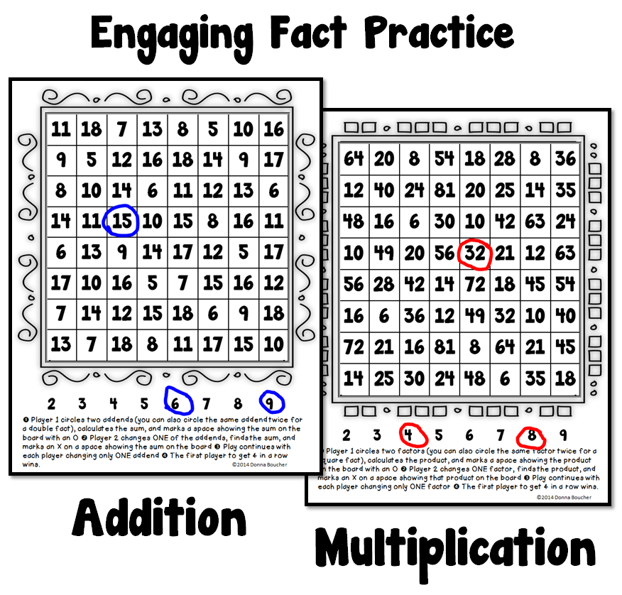 Fact Practice Your Students Will Love! - Math Coach\'s Corner
