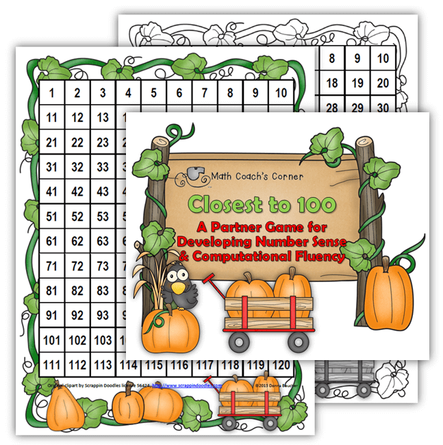 Making 100, A Fall Themed Freebie