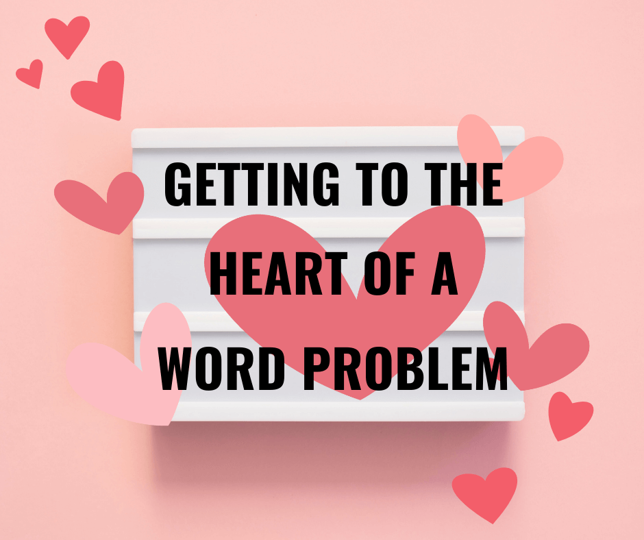 Getting to the Heart of a Math Word Problem