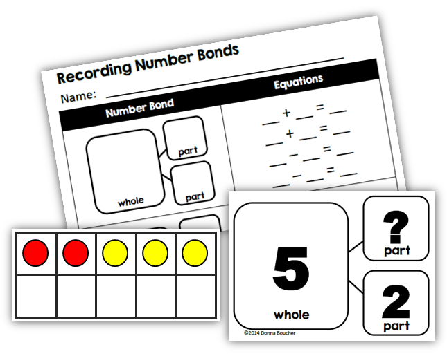 composing and decomposing numbers worksheet free works - Criabooks ...