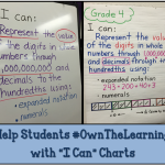 "Using ""I Can"" Charts to Make Learning Visible"