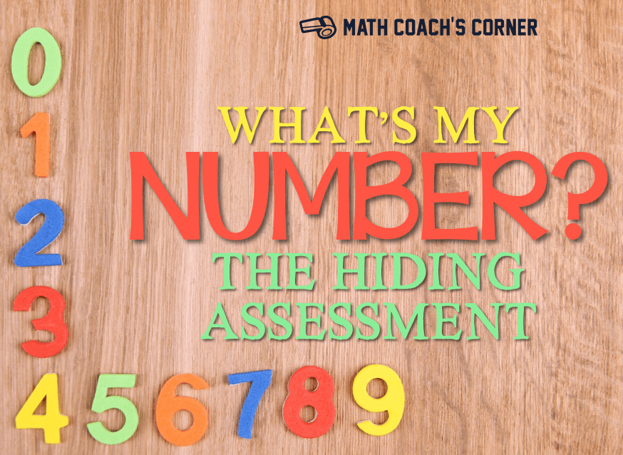 What\'s My Number? Differentiating in K-1 - Math Coach\'s Corner