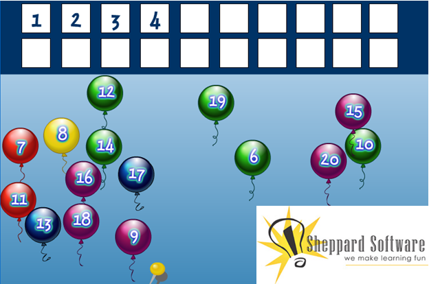 Online Activities for Number Recognition to 20 - Math Coach\'s Corner