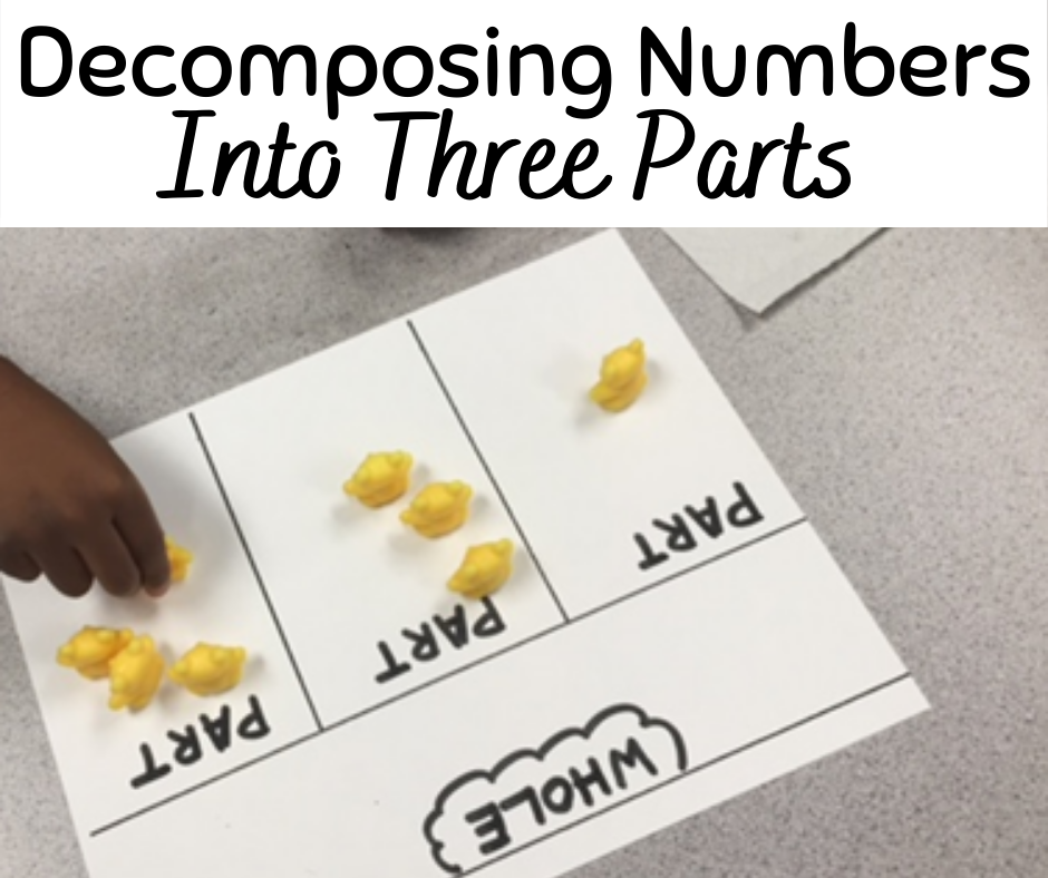 Decomposing Numbers Into Three Parts