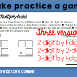 Make Math Practice a Game