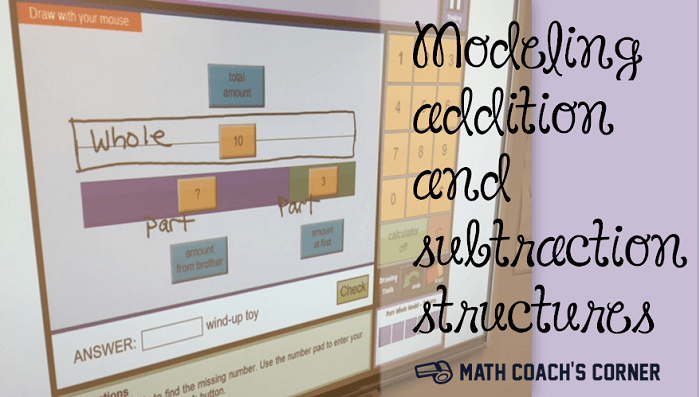 Modeling Addition and Subtraction Structures
