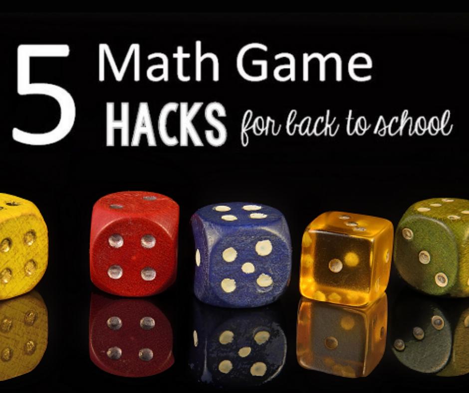Back to School Math Game Hacks