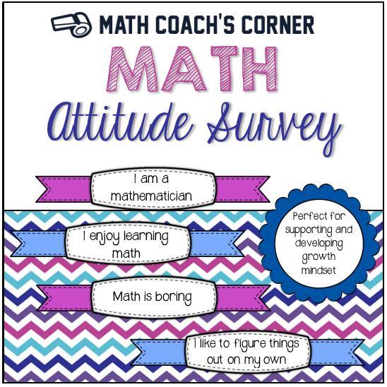 Math Attitude Survey Square