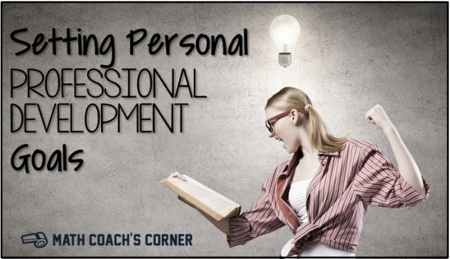 Setting Personal Professional Development Goals