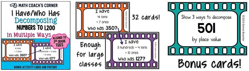 Decomposing Numbers to 1200 Collage